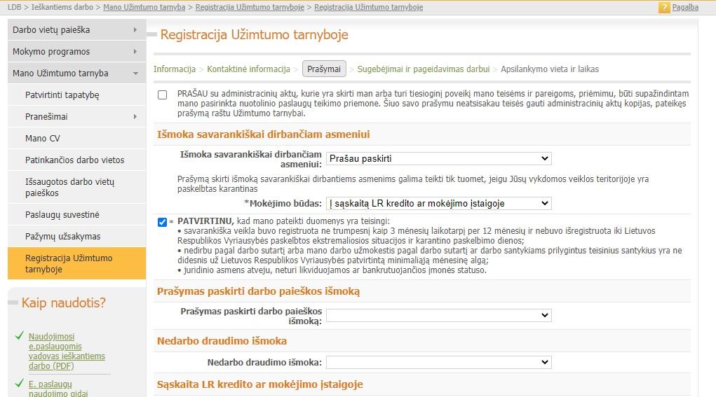 darbo pasiūlymai namuose como)