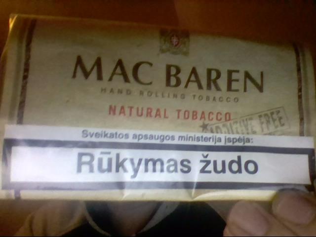Sukamas tabakas kainos
